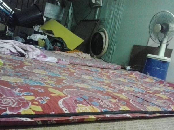 Cama en dormitorio compartido en Yangoon