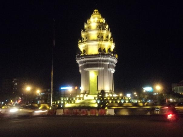 Monumento de la Independencia en Phom Phen