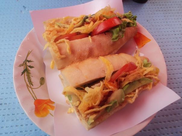 Bocadillo Laos Style