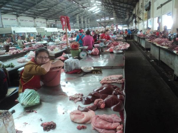 Mercado Local en Pakse