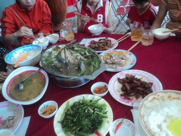 Almuerzo en Vietnam