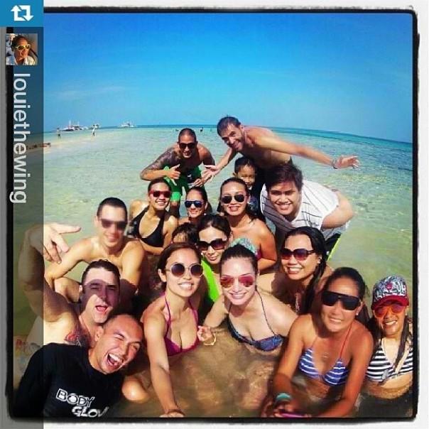 Haciendo amigos en Cebu