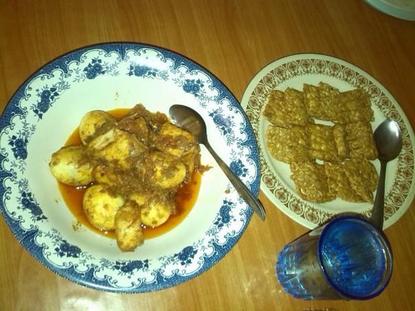 Desayuno en Mataram