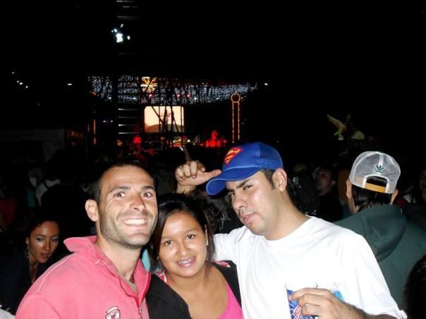 Con Diana y Juan en el Concierto