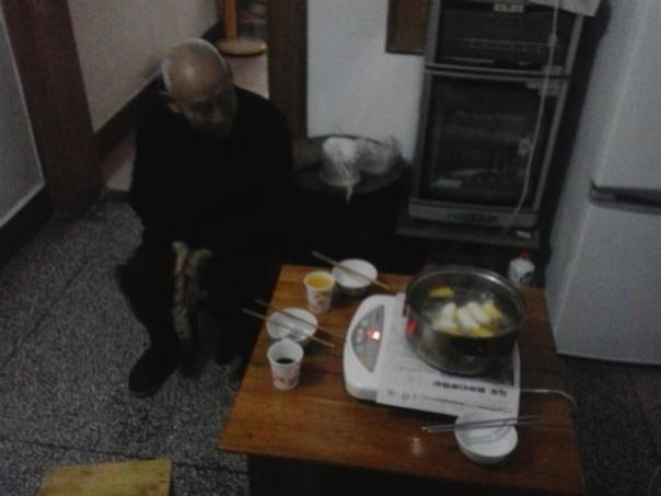 88 primaveras!! El abuelo de Ching