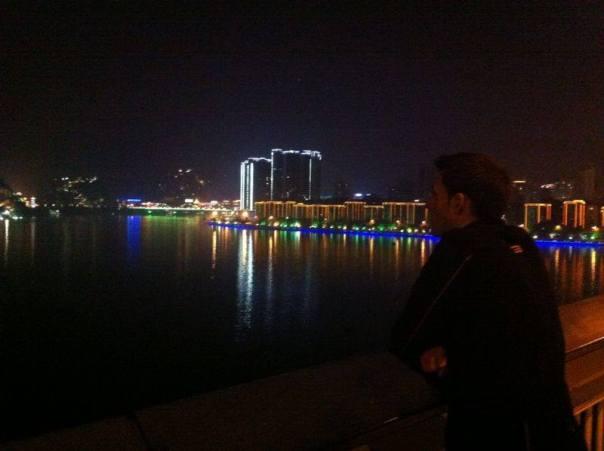 Iluminacion de Fin de Anyo en Liuzhuo