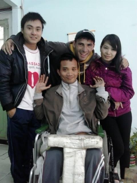 Mis amigos en Da Nang