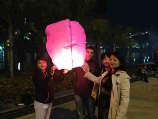 Pidiendo un deseo en Liuzhuo