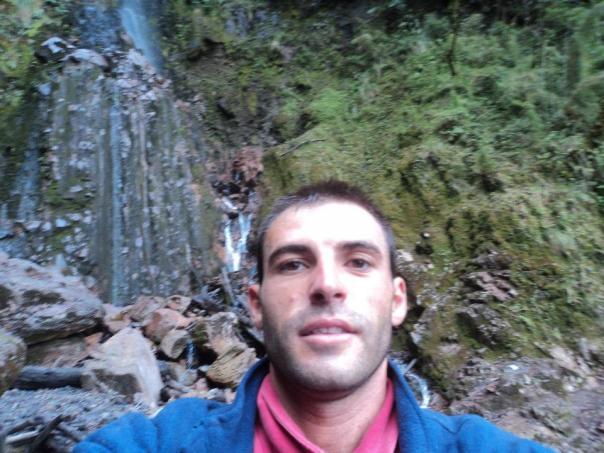 Cascada en el Nevado