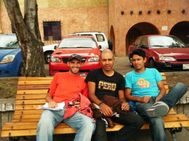 El podio gamin , en Cuenca