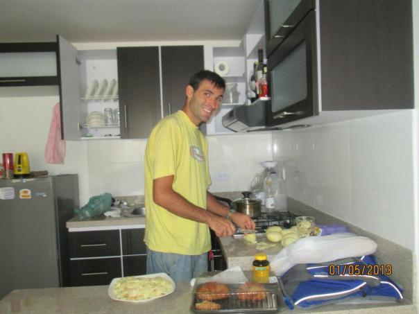 Cocinando con mucho amor en Pasto