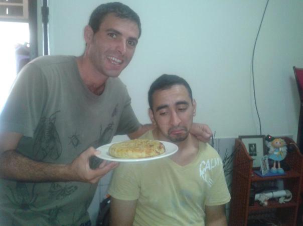 Con Salah y una tortilla de papas