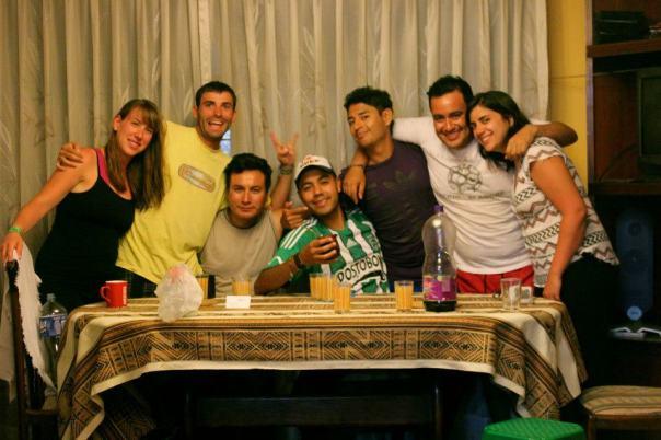 Foto de equipo , en Lima