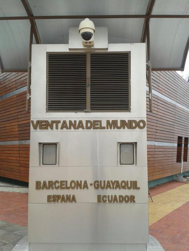En el Malecon , en Guayaquil