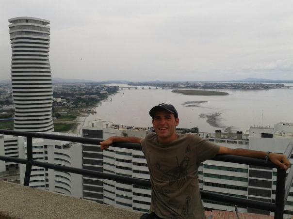 Vistas desde el faro , en Guayaquil