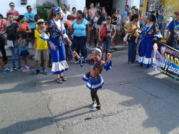 Desfile de Carnaval en Cartagena de Indias