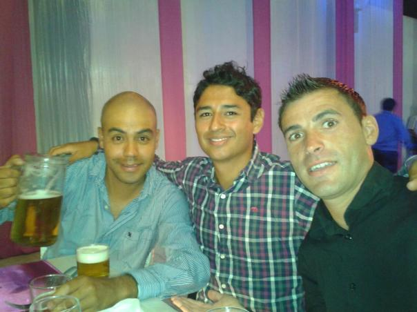 Con Jose y Arturo , de boda en Chiclayo