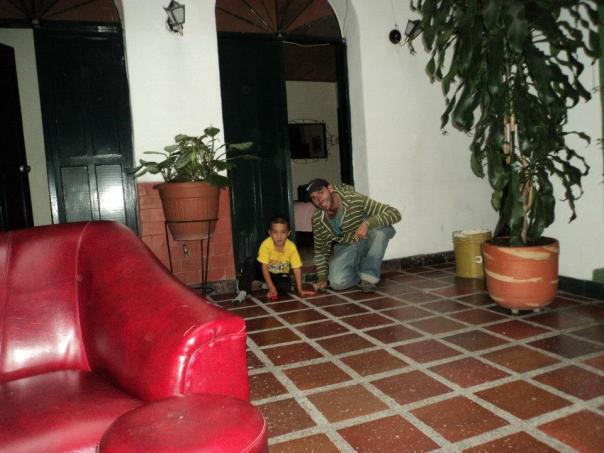 Haciendo amigos en Popayan