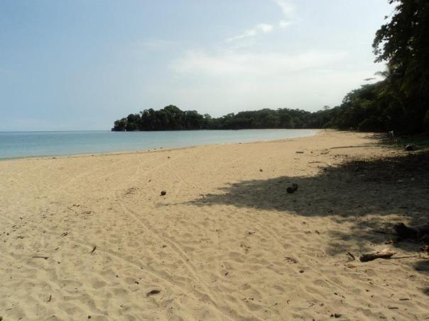Playa de Puerto Viejo en Costa Rica