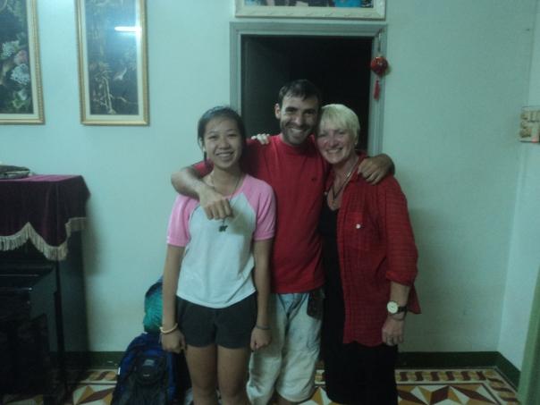 Con Quy y Annette