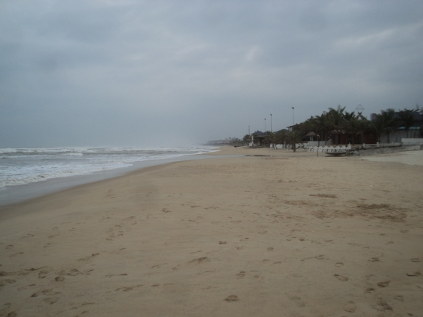 Playa en Da Nang