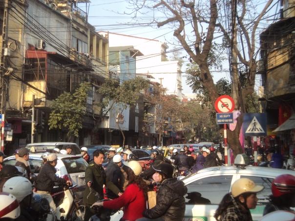 La tranquila Ciudad de Hanoi