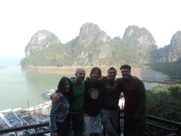 Halong Bay foto en familia