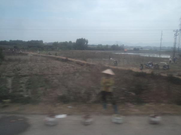 Camino de la frontera con Vietnam