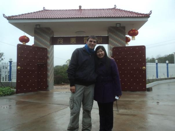Con Sunny en Changsha
