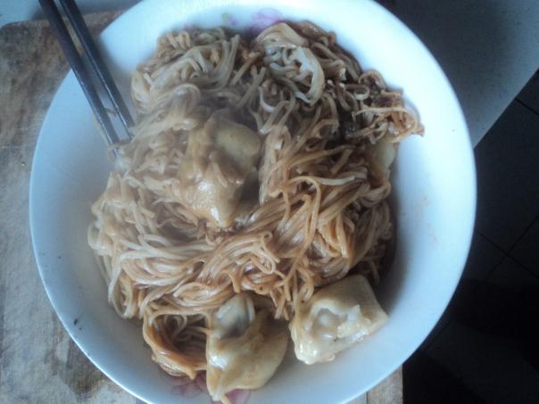 Rico desayuno en Changsha