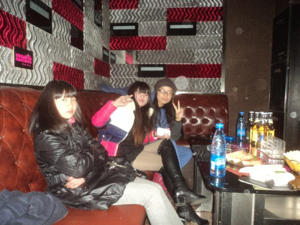 Karaoke con Liejung y sus amigas