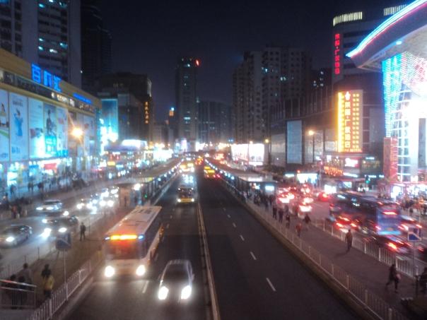 Guangzhou de noche
