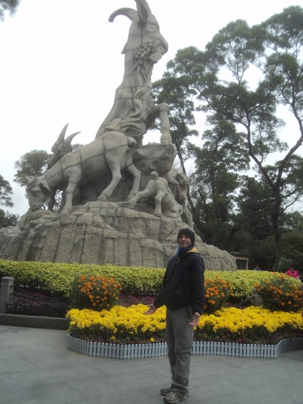 Haciendo turismo en Guangzhou
