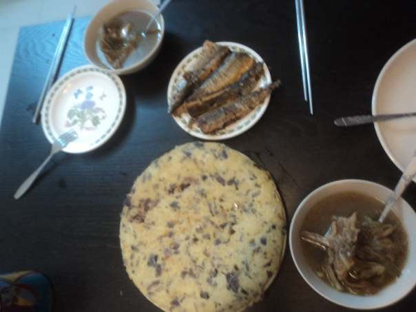 Cocinando a Karen  en Guangzhou