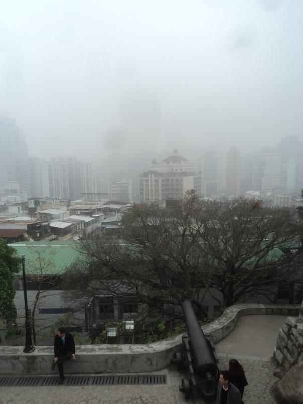 Vistas desde el Fuerte en Macao