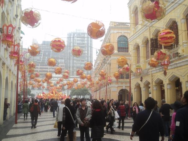 El centro turistico de Macao