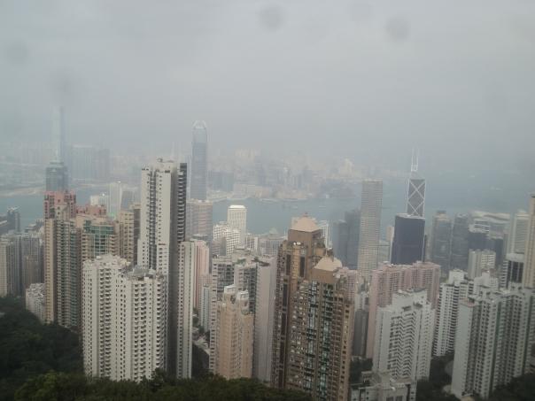 Vista desde Peak en HK