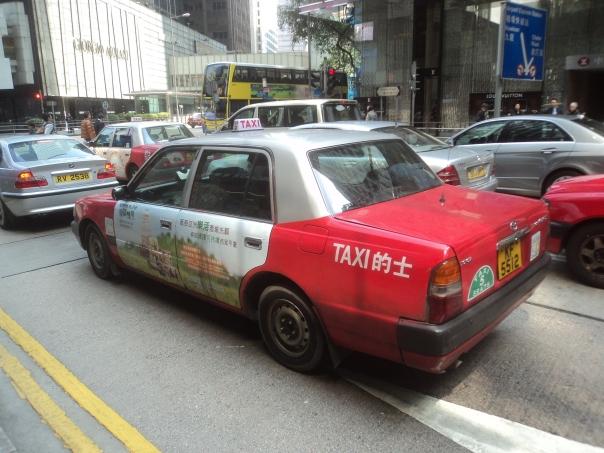 Taxi en HK