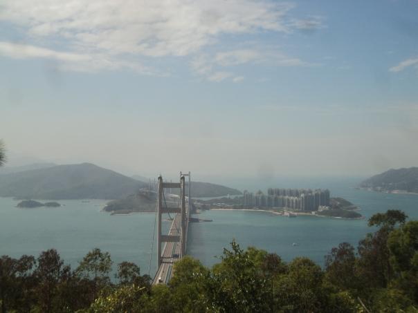 Vistas desde la montanya en HK