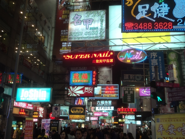 Barrio de Mongkok