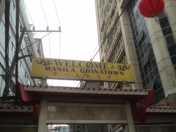 Chinatown en Manila