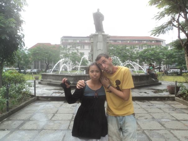 Intramuros con Rakel