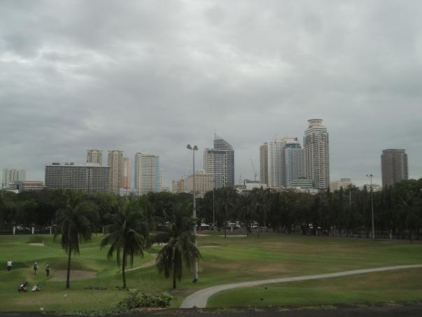 Vista desde el Fuerte en Intramuros