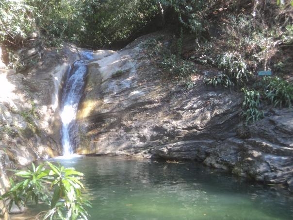 Cataratas en Puerto Galera