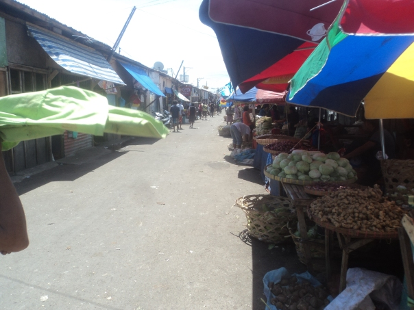 Mercado local en Cebu