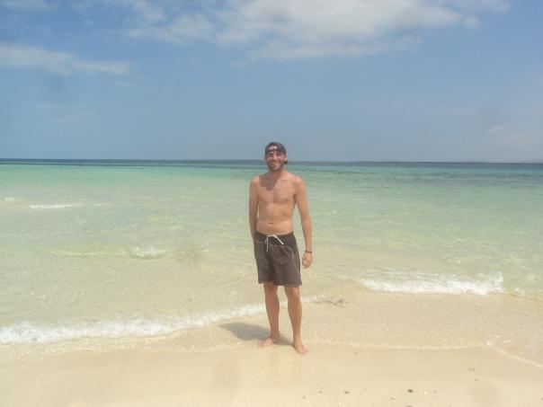 Playa paridisiaca en Cebu
