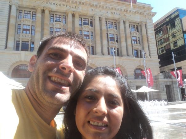 Haciendo turismo en Perth con Katy