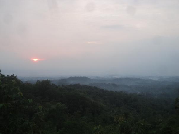 Amanecer frente al Buruburu