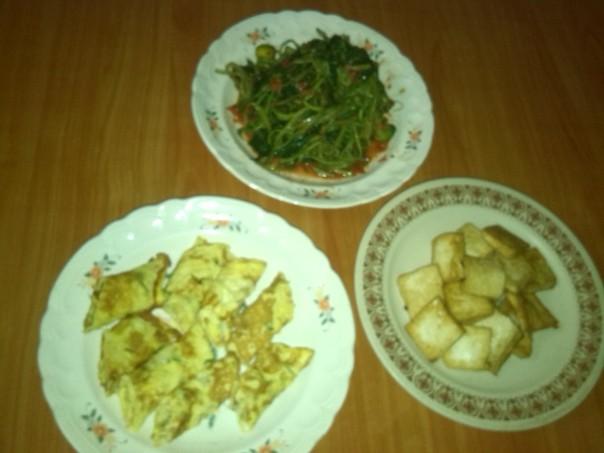 Comida local en Mataram