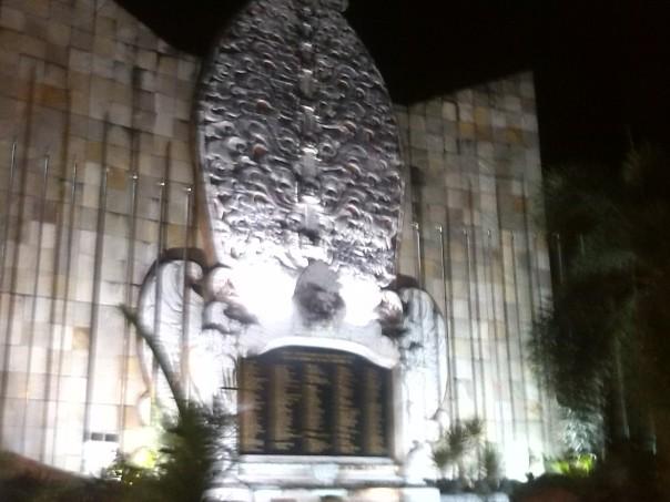Monumento a las victimas del atentado en Bali